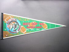 1994 B.C. LIONS BALTIMORE FOOTBALL CLUB CFL GREY CUP GAME PENNANT FLAG BC COLTS