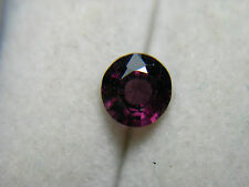 rare raspberry PURPLE Spinel gem Burmese Mogok Burma Natural untreated Gemstone