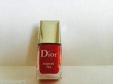 Christian Dior Vernis Nail Polish # 754 PANDORE - cap slightly scratched