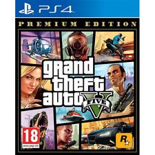 Gioco PS4 nuovo sigillato GRAND THEFT AUTO V GTA 5 PREMIUM EDITION multilingue