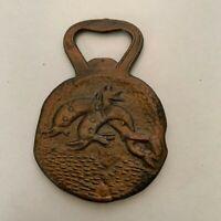 Vintage Metal Bottle Opener Made In Greece Ancient Greece Design