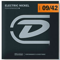 Dunlop DEN0942 Nickel-Plated Steel Light 009-.042 Electric Guitar Strings 6 Set