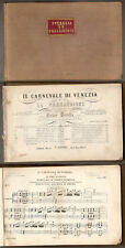 1865 - IL CARNEVALE DI VENEZIA DEL PETRELLA
