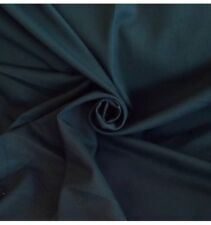 7 Metres Of Quality Cotton Twill Curtain Craft & Suit  Fabric  Bottle Green