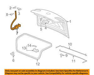 Buick GM OEM 06-11 Lucerne Trunk Lid-Hinge 25776509
