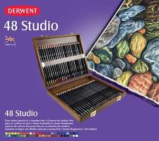 Derwent Studio Pencils 48 Wooden Box