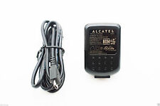 New OEM Original Alcatel Home Wall Travel Charger Micro USB Data Sync Cable
