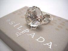 Designer SILPADA Quartz & Sterling Silver Ring Size 5 (R2286) EUC!