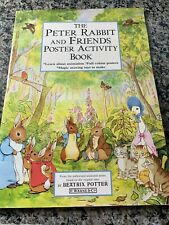 Peter Rabbit and Friends Poster Activity Book by Potter, Beatrix FAST SHIP
