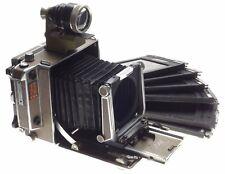LINHOF super technika IV large format camera body 4x5 Universal finder 6 holders