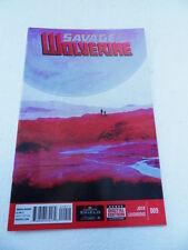 Savage Wolverine 9 . Marvel  2013 -  VF - minus