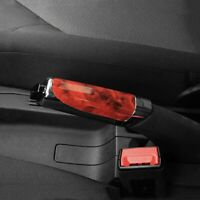 Hand Brake Protector Decoration Cover Red Carbon Fiber Auto Car Accessories