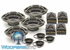 "2 SETS OF KICKER KS5.2 5.25"" COMPONENT SPEAKERS TITANIUM TWEETERS CROSSOVERS NEW"