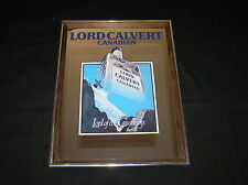 """LORD CALVERT CANADIAN WHISKEY MIRROR MIRRORED SIGN PICTURE 17"""" x 13"""""""