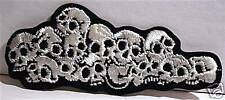 Bed Of Skulls Rock Concert Band Patch Old Store Stock