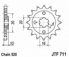 Pignon pr Kit Chaine CAGIVA PLANET RAPTOR 125 EU3 W8