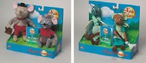 Boxset 2 Toys The Fables of The Fontaine Duo Animals Cicada Ant And Rat