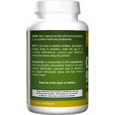 Curcumin 95, 500mg x 60VCaps, Anti-inflammatory, Joints, Jarrow Formulas