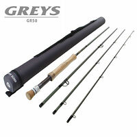 Greys GR50 4 Piece Light Salmon Trout Fly Fishing Rod + Travel Case