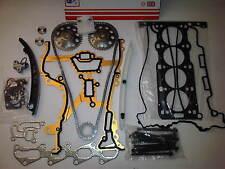 VAUXHALL CORSA C 1.2 Z12XE 16V HEAD GASKET SET + HEAD BOLTS + TIMING CHAIN KIT