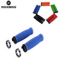 ROCKBROS Bicycle Cycling One Side Lock TPR Rubber Comfortable Non-Slip Grips