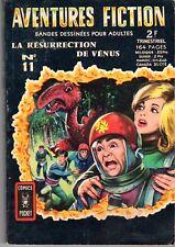 AVENTURES FICTION 11 LA RESURRECTION DE VENUS  AREDIT 1969 TBE