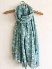 Écharpes et châles coton mélangé à motif Floral pour femme