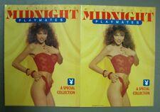 Playboy Press ~ 2 Book Set ~ Playboy's Midnight Playmates ~ 1989 & 1996 Specials