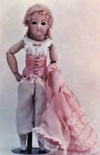 """15-16""""Antique French Fashion Lady Doll@1880's Underwear/Corset/Stocking Pattern"""