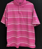 Men's Slazenger SS  Striped Wicking Golf Polo Shirt Large L
