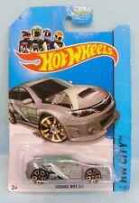 3395 HOT WHEELS CARTE US /HW CITY 2013 26/247 /TREASURE HUNT SUBARU WRX STI 1/64