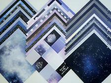 12X12 Scrapbook Paper Cardstock DCWV Zodiac Eclipse Stars Celestial Astronomy 36