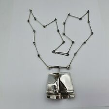 Lapponia Collier / Kette BW Design Silber 925 S7 1971
