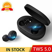 TOMKAS TWS Bluetooth Headsets PK Redmi Airdots Wireless Earbuds 5.0 Earphones No