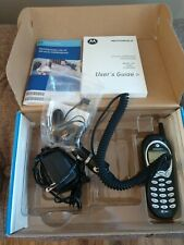 Motorola 120T Black At&T Wireless Vintage Phone Fast Shipping Ac Car Charger