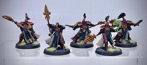 Warhammer AoS - Stormcast Eternals Evocators, painted (Astral Templars)
