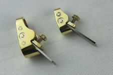 Woodworker tools, 2 pcs different sizes Mini Brass plane, Violin making tools