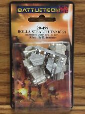 Battletech Bolla Stealth Tank (2) 20-499 Click for more Savings!