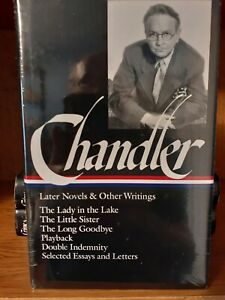 RAYMOND CHANDLER: Later Novels & other Writings Library of America w/J Sealed