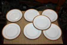 Limoges J & B France Dessert Plates Gold Trim J Boyer 7 Plates