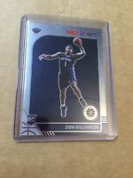 ZION WILLIAMSON 2019-20 Panini NBA Hoops Premium Stock PHOTO VARIATION Rookie RC