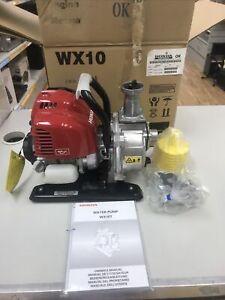 Honda Wx10 Water Pump - Boxed -Unused - Preowned