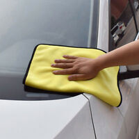 NEW Towel Super Absorbent Car Wash Microfiber Car Cleaning Drying Cloth Hemming
