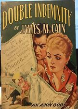 Double Indemnity by James M. Cain ~ Avon Books #60 ~ Rare!