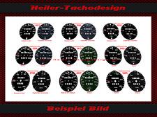 TACHIMETRO disco PORSCHE 911 AUTO D'EPOCA TACHIMETRO Speedo Dial US Miles quadrante