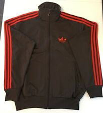 Adidas Originals ADI-Firebird Track Top Jacket Brown Chili Size L P08019