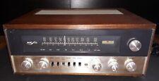 Vintage McIntosh Mac 1700 MAC1700 Stereo Receiver Original Wood Case Serviced