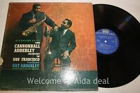 """The Cannonball Adderley Quintet In San francisco  LP (ACC) 12"""""""