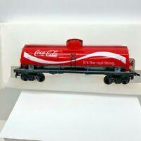 Tyco HO Scale 40' Tank Car - Coca Cola Tanker Train Car in Original Box - 315L 1