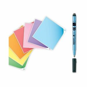 Mémo adhésif effaçable réutilisable + stylo - WhyNote